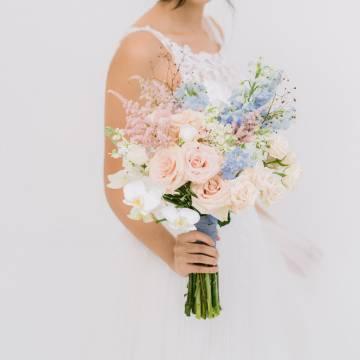 Pastel Perfection Bridal Bouquet