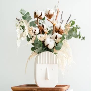 Gossypium Vase Arrangement