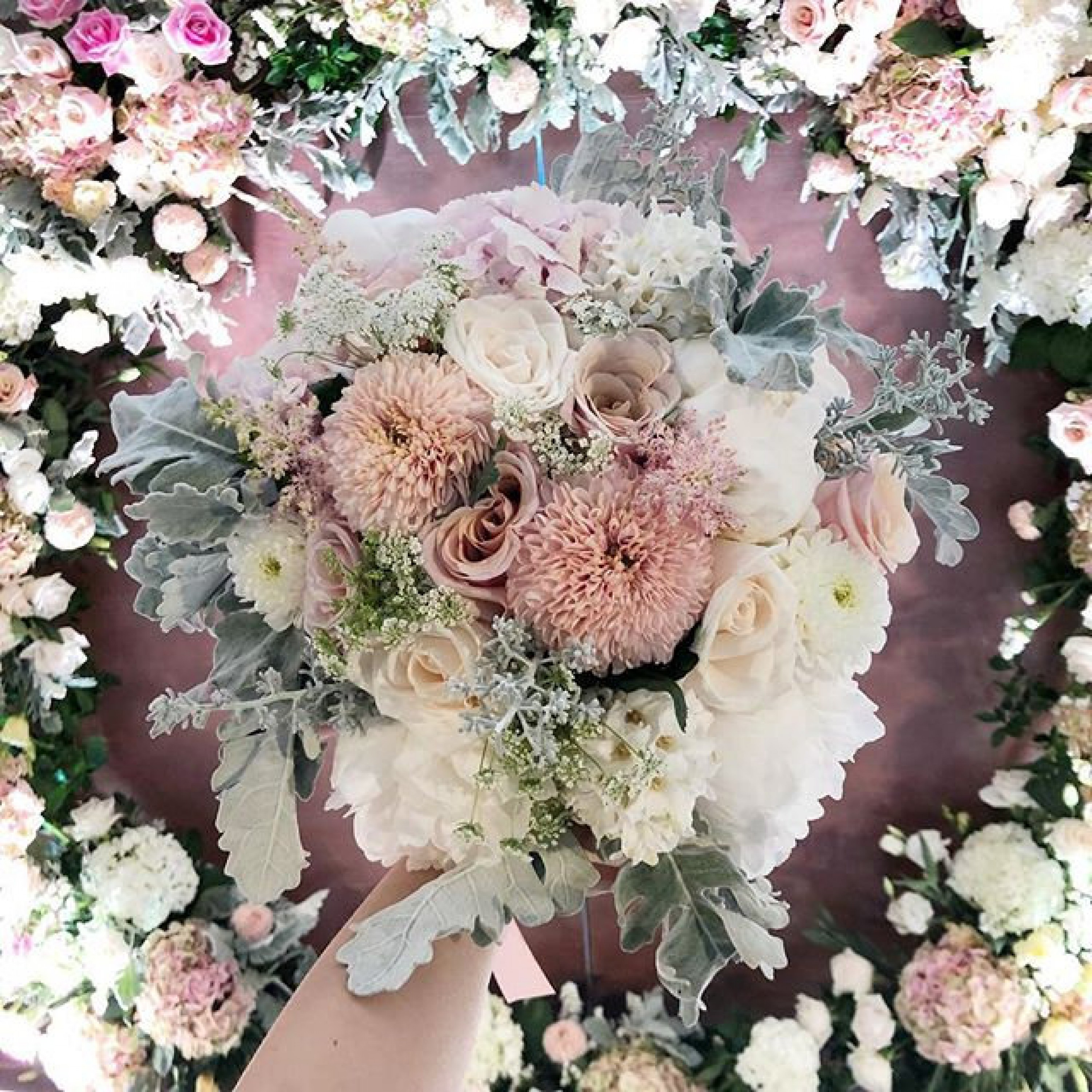 Pink Perfection Bridal Bouquet