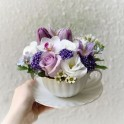 Fancy Floral Teacup