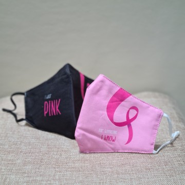Breast Cancer Awareness Month Mask - Add on