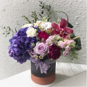 Midnight Magic Vase Arrangement
