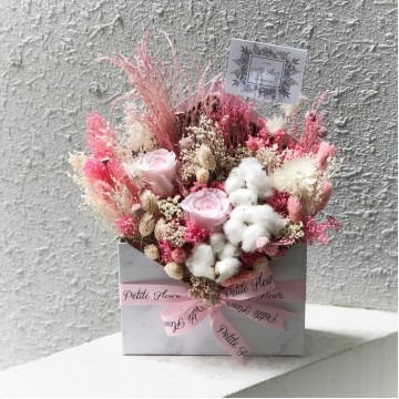 Petite Love Letter- Preserved and Dried Blooms