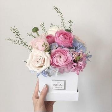 Petite Square Flower Box