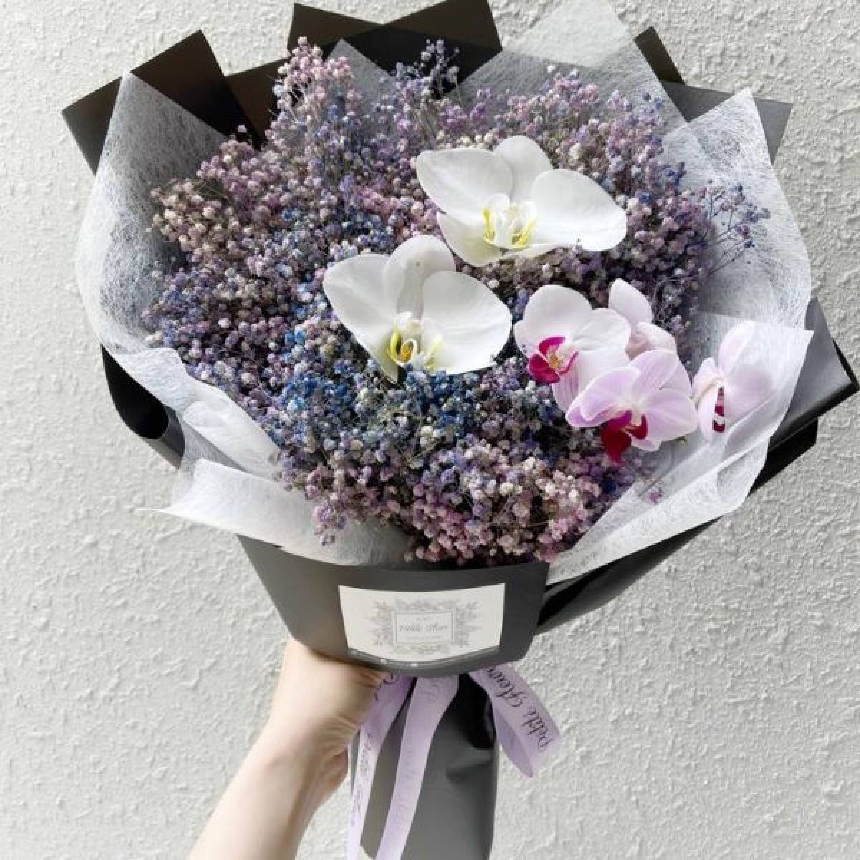 Baby's Breath and Orchid Galaxy