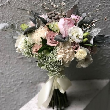 Silver Magic Bridal Bouquet