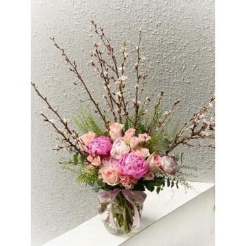 Japanese Cherry Blossom Arrangement
