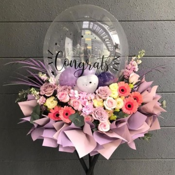 Felicitations Floral Stand