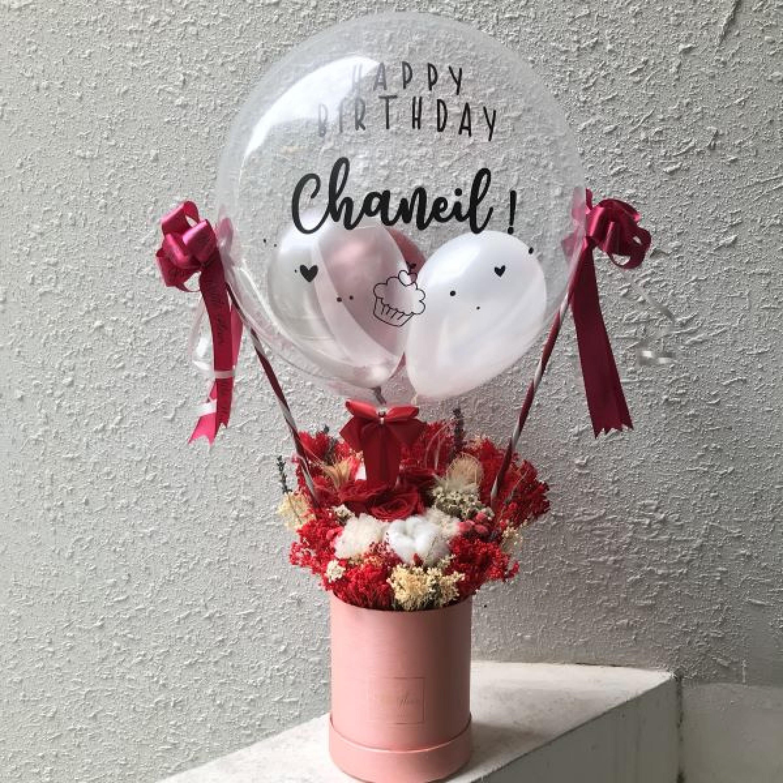 Hot Air Balloon - Everlasting Flowers