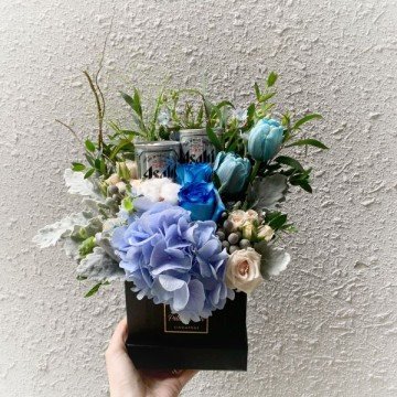 Mini Asahi Floral Box