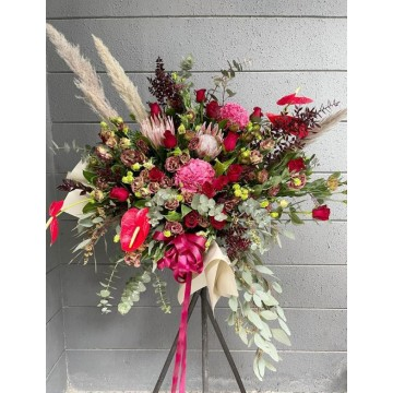 Rustic Protea Floral Stand