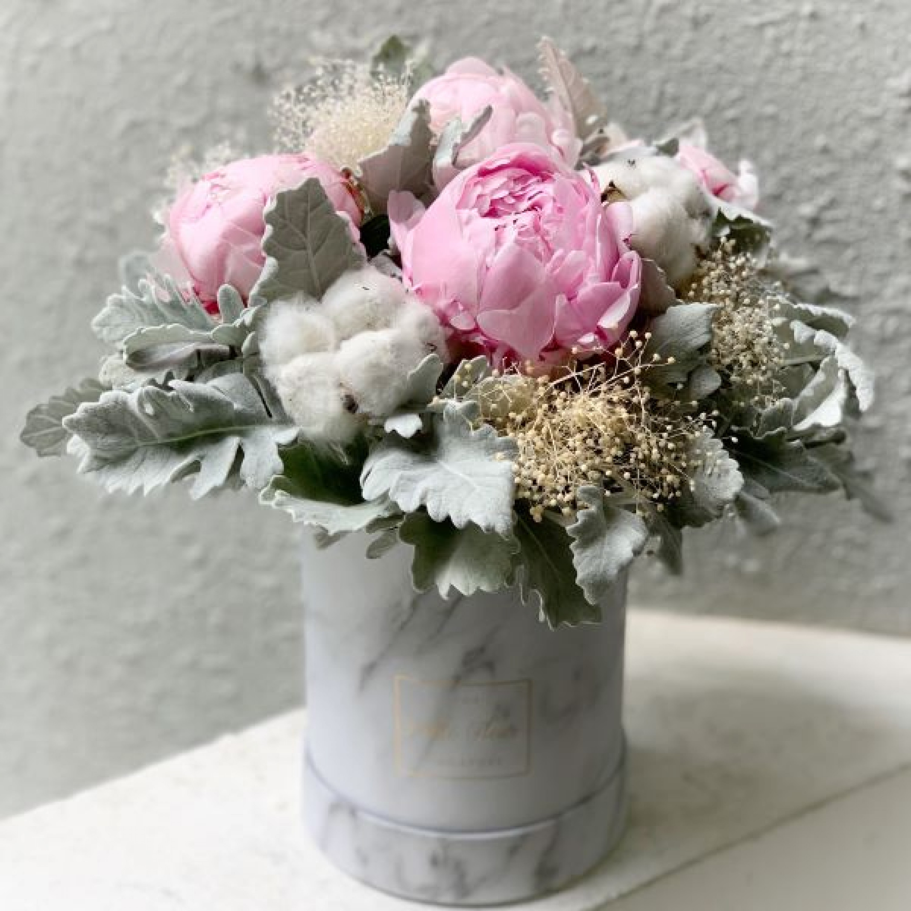 Special Peony Floral Box