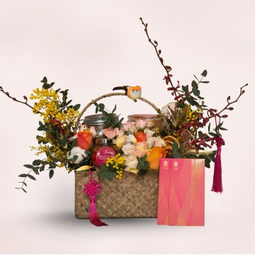 Lucky Bloom Basket