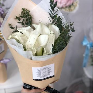 Elegant Calla Lily Bouquet