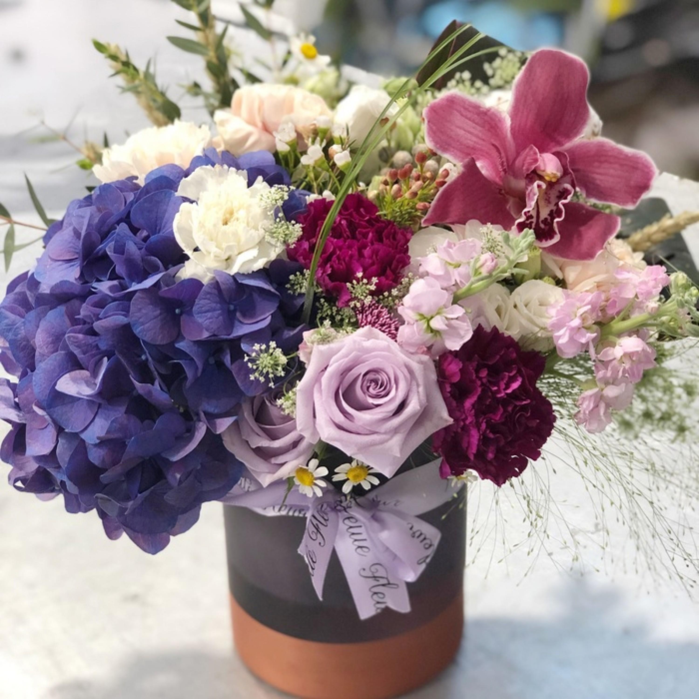 Midnight Magic Vase Arrangement