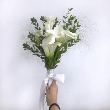 Calla Lillies Bridal Bouquet